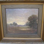 "Bertha Stringer Lee Oil Painting Landscape ""Twilight"""