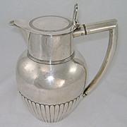 Wallis & Hayne Sterling Silver Cider Jug Pitcher London 1810
