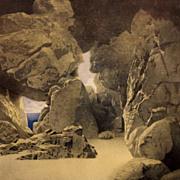 "Maxfield Parrish Print ""An Odd Angle of the Isle"""