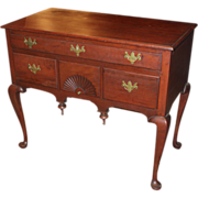 SOLD 18th c Connecticut Cherry Wood Highboy Base or Server