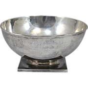 SOLD Gebelein Footed Sterling Silver Bowl
