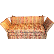 20th c Knoll Style Sofa with Pillows