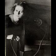 "SOLD Johanna Alexandra ""Lotte"" Jacobi Self Portrait Photograph"