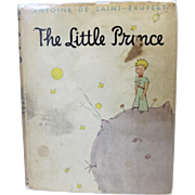 SALE Rare Book - The Little Prince by Antoine de Saint-Exupery 1st Edition