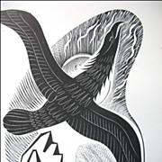 Vintage Art DECO Print of Woodcut by John FARLEY STUNNING!