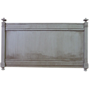 19th Century French Antique Queen Size Headboard