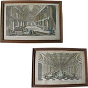 Pair of 18th Century French Antique Vue D'Optiques