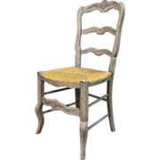 SALE 19th Century Antique French Provencal Chair