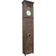 SOLD 19th Century French Antique Grandfather Clock