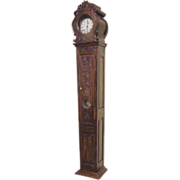 SOLD 18th Century French Antique Provencal Grandfather Clock