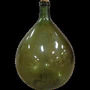 SOLD 19th Century French Antique Demijohn Bonbonne
