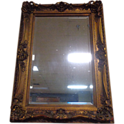 SALE French Vintage Rococo Style Mirror