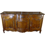 SALE Antique French Louis XV Style Provencal Walnut Buffet