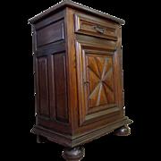 SALE Vintage French Louis XIV Style Oak Cabinet