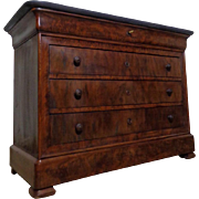 SALE 19th Century Antique French Louis Philippe Period Mahogany Commode