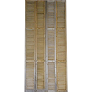 SALE Tall Pair of Antique French 19th Century Shutters