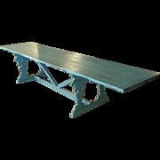SALE 12 Feet Long Italian Florentine Pine Dining Table