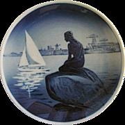 Royal Copenhagen Little Mermaid Plaque