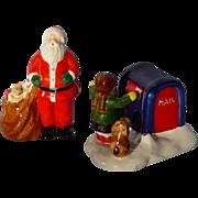 Dept. 56 Snow Village Santa & Mailbox