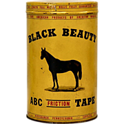 Black Beauty Tape Can