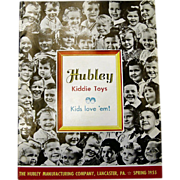 1955 Hubley Toy Catalog