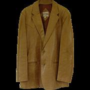 Vintage Remy Leather Blazer/Sport Coat