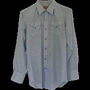 Vintage 1970's H BAR C Western Dress Shirt
