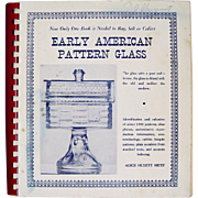 SOLD Early American Glass Books