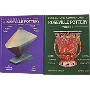 Collectors Compendium of Roseville Pottery