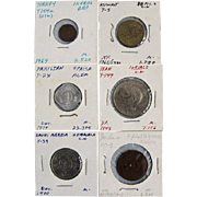 Middle Eastern Coin Assortment