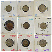 Cuban Coin Assortment