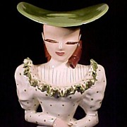 SALE Betty Lou Nichols LuAnne Head Vase