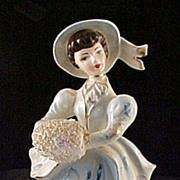 Lady Figurine with Muff