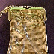 Vintage Whiting & Davis Evening Purse