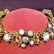 Vintage Florenza Multi Colored Bracelet