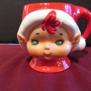 Lefton Christmas Cup Mug