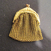 Vintage Petite Chatelaine Purse Germany