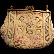 Micro Beaded Vintage Purse Handbag Inlay Frame
