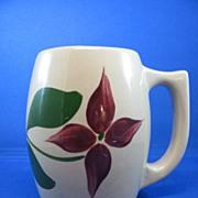 Watt Ware Star Flower  501 Barrel Shaped Mug