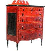 Soap Hollow Decorated Chest of Drawers Jeremiah Stahl