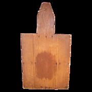 Vintage Large Wooden Bread Board Trade Sign