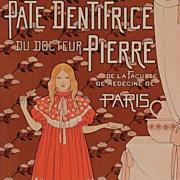 SALE Original French Lithograph 'Pate Dentifrice' Les Maitres de L'Affiche 1896.