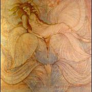 SALE Burne-Jones Art Nouveau English Decorative Arts Annual Journal 1900.