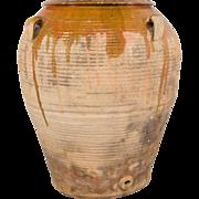 Large 19th Century Italian Terracotta Olive Jar