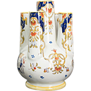French Faience Bouquetière or Vase