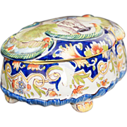 French Faience of Desvres Box