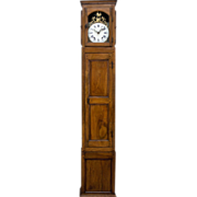 18th c. French Horloge de Parquet or Tall Case Clock