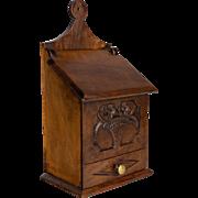 French 19th Century Salt Box