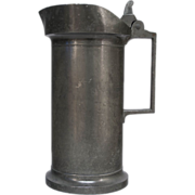 French Pewter Pitcher