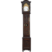 18th c. French Tall Case Clock